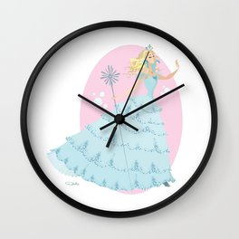 Glinda the Good Witch Wall Clock