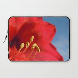 Amaryllis Flower Laptop Sleeve