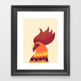 Cock Framed Art Print