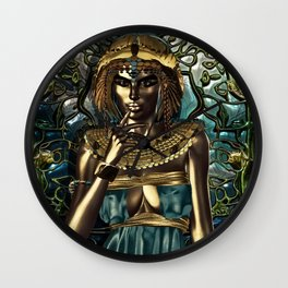 Metallic Queen Wall Clock