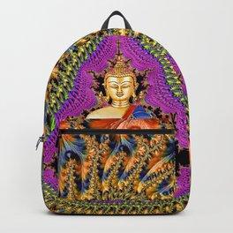 Buddha Mandelbrot Set Backpack
