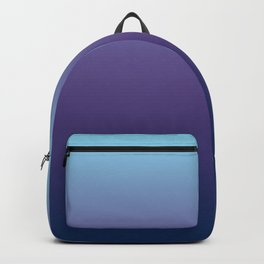 Ombre Blue Ultra Violet Gradient Pattern Backpack