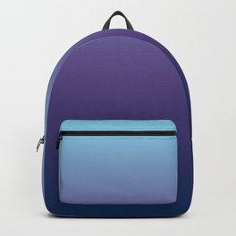 Ombre Blue Ultra Violet Gradient Pattern Backpack