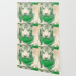 Green Tiger Wallpaper