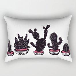 cactus row Rectangular Pillow
