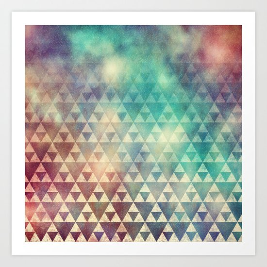 Tribal Fade Art Print