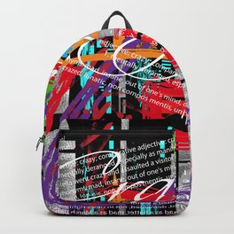 Crazy Cool Abstract Backpack