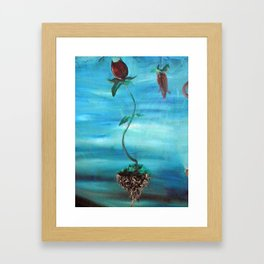 Floating Tulip Framed Art Print