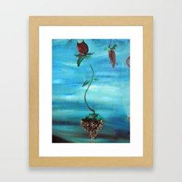 Floating Tulip Framed Art Print