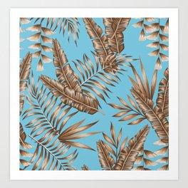 Wild Tropicals Art Print