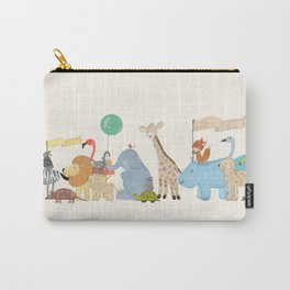 little safari parade Carry-All Pouch