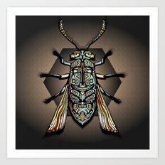 Humphery Bug Art Art Print