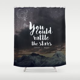 You could rattle the stars (stag included) Shower Curtain