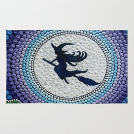 The magic of the night. We all have a little witch)))). Fascinate others! Rug