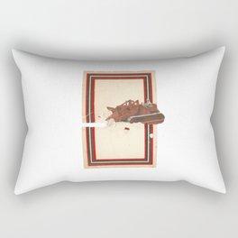 Torn Around — Bulldozer Rectangular Pillow