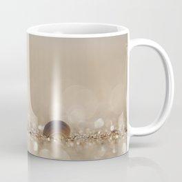 Seashell in the Sparkly Beach Sand Coffee Mug