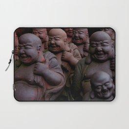 Laughing Buddhas Laptop Sleeve