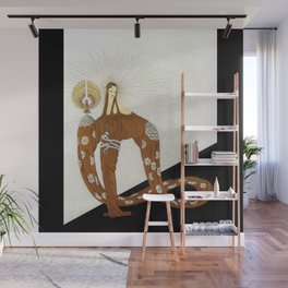 Art Deco 1920's Exotic Theatre Design Wall Mural