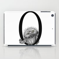 letter iPad Cases featuring Letter  by Svenningsenmoller Design