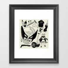 The Wulverine Framed Art Print