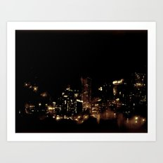 Lost in Some City No. 8 Art Print