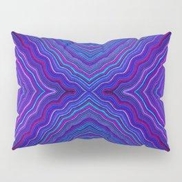 Abstract #9 - IX - Brilliant Blue Pillow Sham