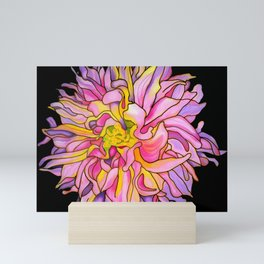 Dahlia Belize Mini Art Print