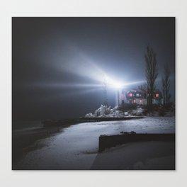 Point Betsie Lighthouse | Frankfort, Michigan | John Hill Photography Canvas Print