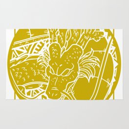 Stained Glass - Dragonball - Shenron Rug