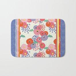 Floral rug Bath Mat