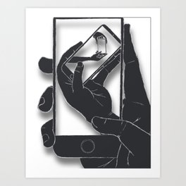 iFail Black (Picture This!) Art Print
