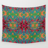 baroque Wall Tapestries featuring baroque pop by Matthias Hennig