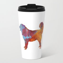 Yugoslavian Shepherd Dog in watercolor Travel Mug