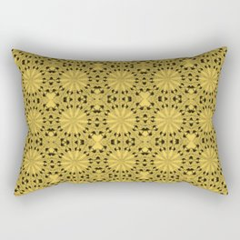 Primrose Yellow Star Rectangular Pillow