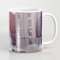 brooklyn Mugs featuring Brooklyn by Ross Burnham