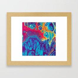 Impure Pour Art Framed Art Print