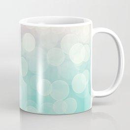 Pink Aquamarine Ombre Bokeh Coffee Mug