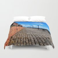 liverpool Duvet Covers featuring Liverpool, Albert Dock by EmL-T
