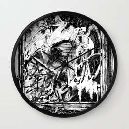 Trashed Wall Clock