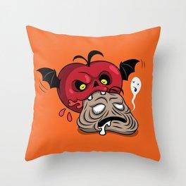 Drinker of Tomato Juice Throw Pillow