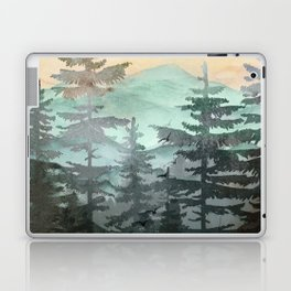 Pine Trees Laptop & iPad Skin