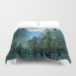 Silent Forest Duvet Cover