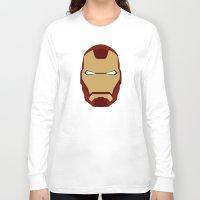 ironman Long Sleeve T-shirts featuring IRONMAN by Alejandro de Antonio Fernández