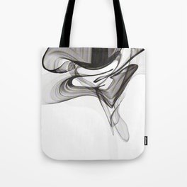 Smoky Noir Tote Bag
