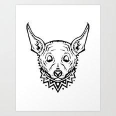 Chihuahua Party Art Print
