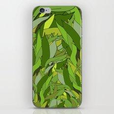 Green Bamboo Leaves iPhone & iPod Skin