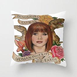 Jurassic World Throw Pillow