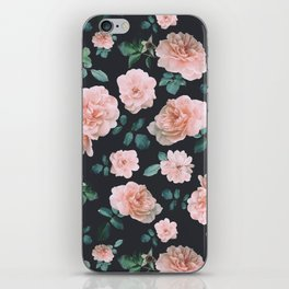 Light Pink Roses Flower pattern iPhone Skin