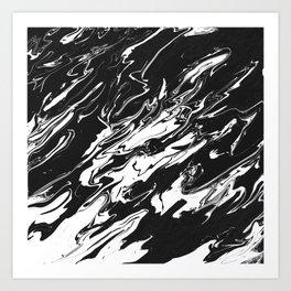 River of Solitude Art Print