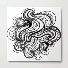 Blinking Cloud Metal Print